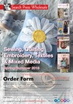 Sewing Quilting Embroidery and Textiles SS 2018 Catalogue
