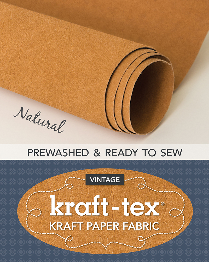 kraft-tex® Roll, Natural Prewashed