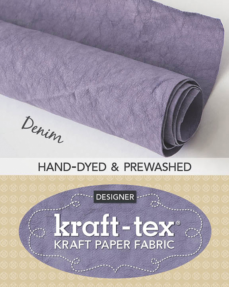 kraft-tex® Roll Denim Hand-Dyed & Prewashed