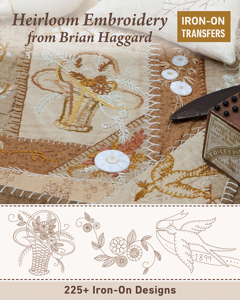 Heirloom Embroidery from Brian Haggard